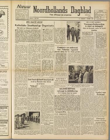 Nieuw Noordhollandsch Dagblad : voor Alkmaar en omgeving 1947-05-16