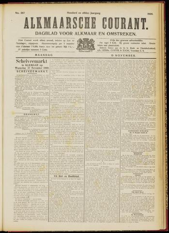 Alkmaarsche Courant 1909-11-15
