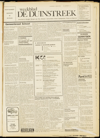 De Duinstreek 1968-01-11
