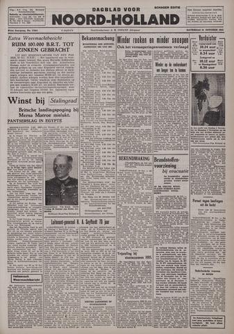 Dagblad Noord-Holland, Schager editie 1942-10-31