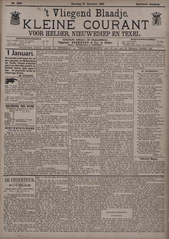 Vliegend blaadje : nieuws- en advertentiebode voor Den Helder 1890-12-27