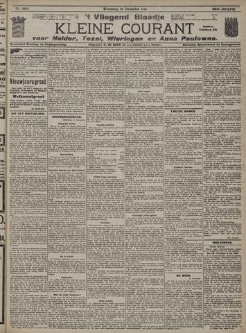 Vliegend blaadje : nieuws- en advertentiebode voor Den Helder 1910-12-28