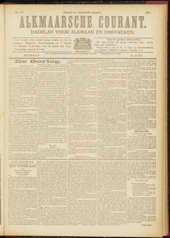 Alkmaarsche Courant 1917-06-12