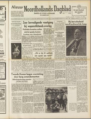 Nieuw Noordhollandsch Dagblad : voor Alkmaar en omgeving 1951-07-11