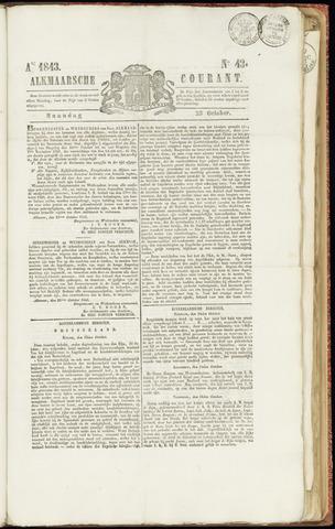 Alkmaarsche Courant 1843-10-23