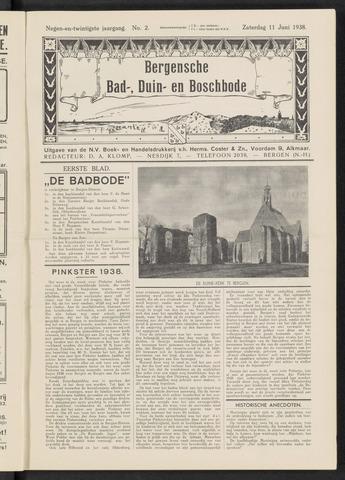 Bergensche bad-, duin- en boschbode 1938-06-11