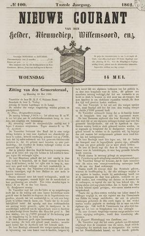 Nieuwe Courant van Den Helder 1862-05-14
