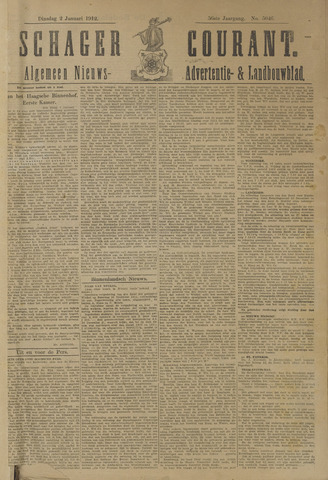 Schager Courant 1912
