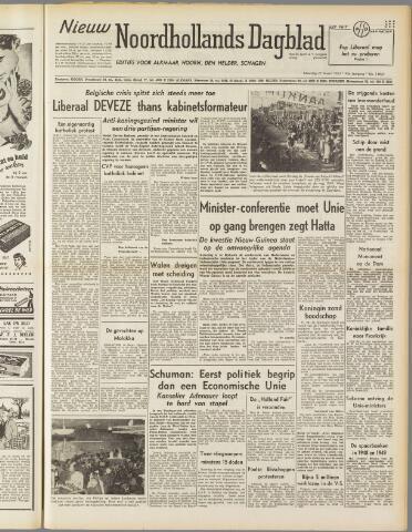 Nieuw Noordhollandsch Dagblad : voor Alkmaar en omgeving 1950-03-27