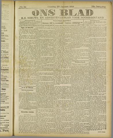 Ons Blad : katholiek nieuwsblad voor N-H 1919-01-28