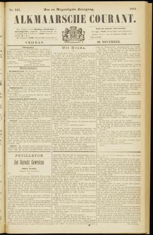 Alkmaarsche Courant 1894-11-30