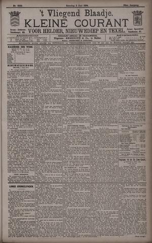 Vliegend blaadje : nieuws- en advertentiebode voor Den Helder 1894-06-02