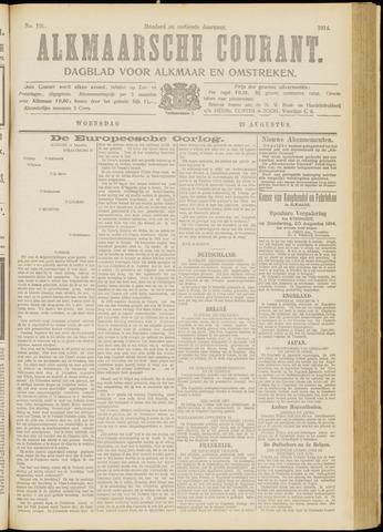 Alkmaarsche Courant 1914-08-19