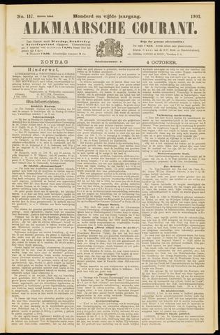 Alkmaarsche Courant 1903-10-04