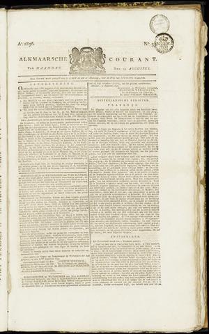 Alkmaarsche Courant 1836-08-15