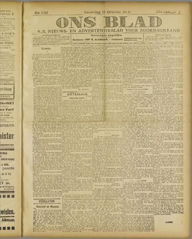 Ons Blad : katholiek nieuwsblad voor N-H 1919-10-11