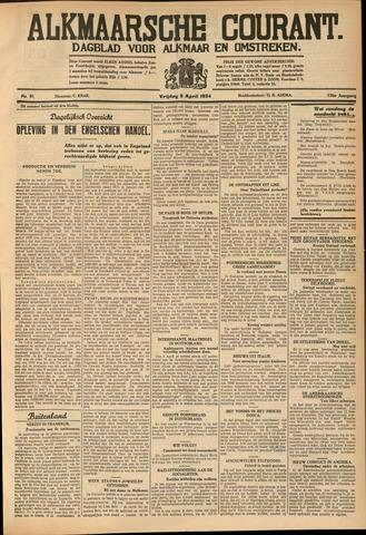 Alkmaarsche Courant 1934-04-06