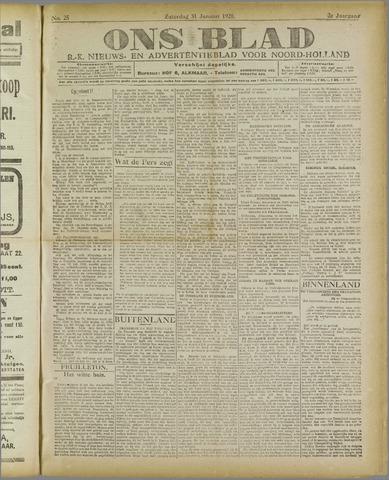 Ons Blad : katholiek nieuwsblad voor N-H 1920-01-31