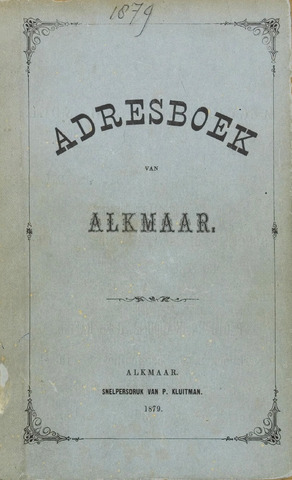 Adresboek van Alkmaar 1879-01-01