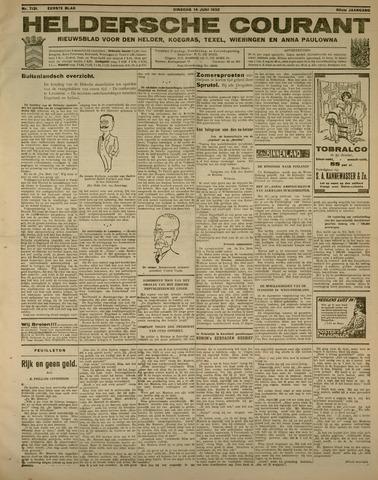Heldersche Courant 1932-06-14