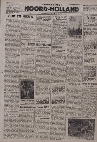 Dagblad Noord-Holland, Schager editie 1942-12-31