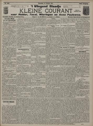 Vliegend blaadje : nieuws- en advertentiebode voor Den Helder 1910-10-15