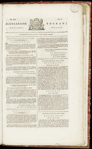 Alkmaarsche Courant 1822-07-29