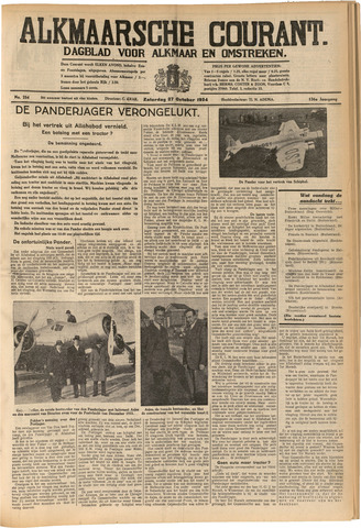 Alkmaarsche Courant 1934-10-27