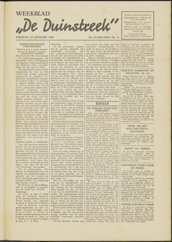De Duinstreek 1946-01-25