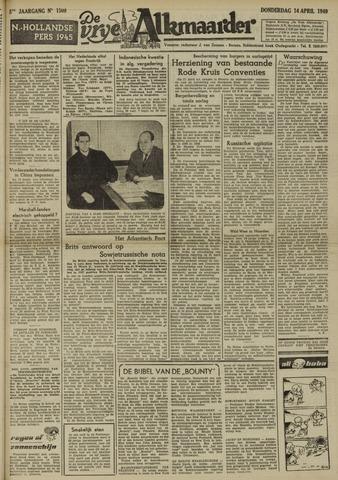 De Vrije Alkmaarder 1949-04-14