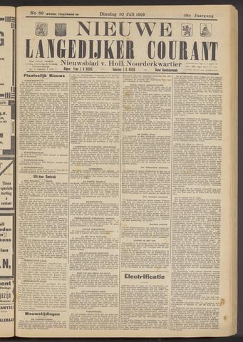 Nieuwe Langedijker Courant 1929-07-30