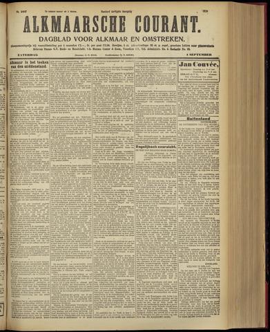 Alkmaarsche Courant 1928-09-01
