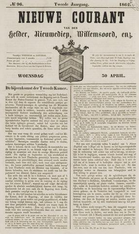 Nieuwe Courant van Den Helder 1862-04-30