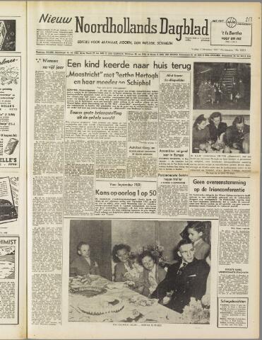 Nieuw Noordhollandsch Dagblad : voor Alkmaar en omgeving 1950-12-15