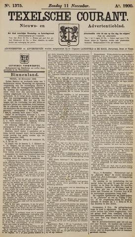 Texelsche Courant 1900-11-11