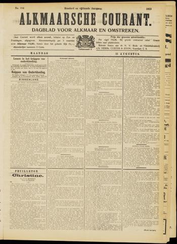 Alkmaarsche Courant 1913-08-11