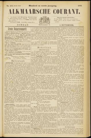 Alkmaarsche Courant 1899-11-05
