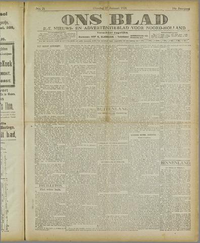 Ons Blad : katholiek nieuwsblad voor N-H 1920-01-27
