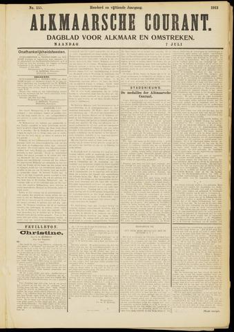 Alkmaarsche Courant 1913-07-07