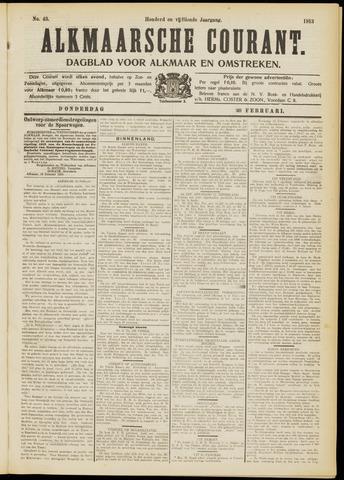 Alkmaarsche Courant 1913-02-20