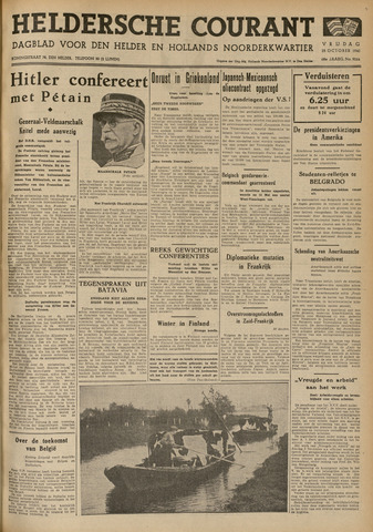 Heldersche Courant 1940-10-25