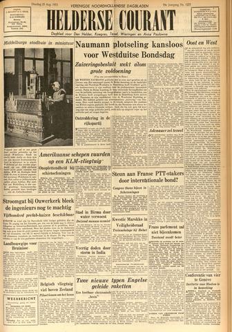 Heldersche Courant 1953-08-25