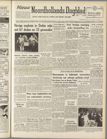 Nieuw Noordhollandsch Dagblad : voor Alkmaar en omgeving 1950-05-22