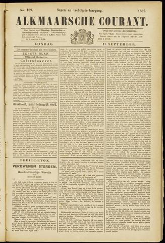 Alkmaarsche Courant 1887-09-11