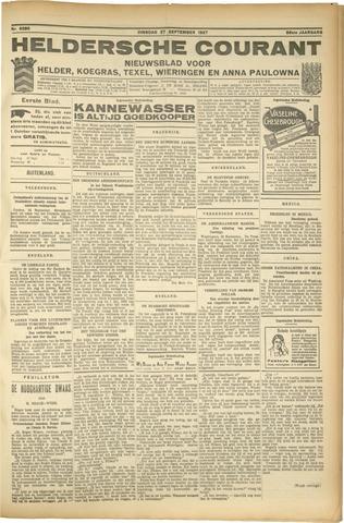 Heldersche Courant 1927-09-27