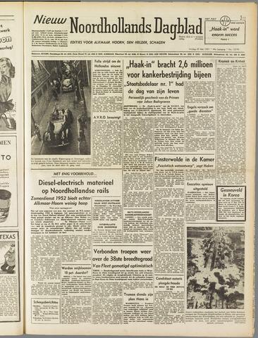 Nieuw Noordhollandsch Dagblad : voor Alkmaar en omgeving 1951-05-25