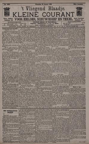 Vliegend blaadje : nieuws- en advertentiebode voor Den Helder 1896-01-29