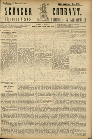 Schager Courant 1895-02-21