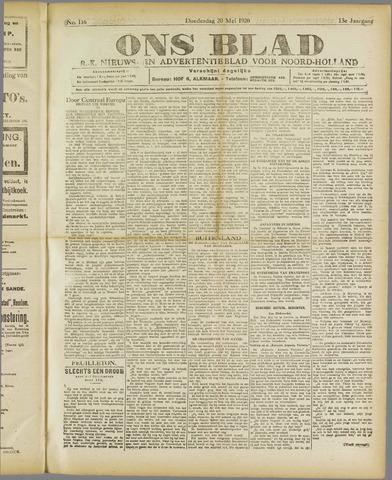 Ons Blad : katholiek nieuwsblad voor N-H 1920-05-20