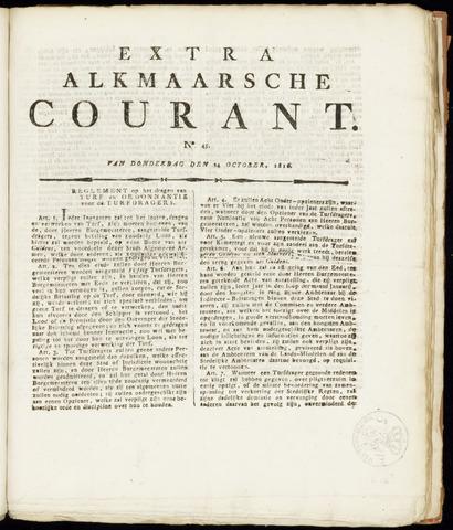 Alkmaarsche Courant 1816-10-24